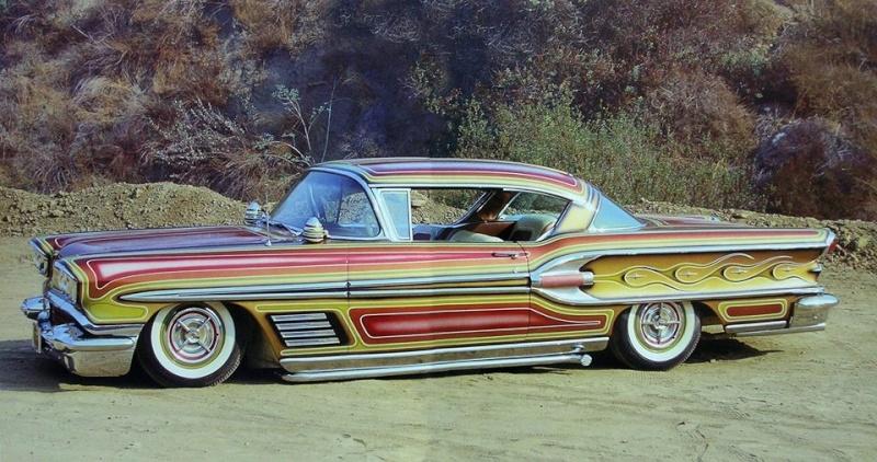 Pontiac 1955 - 1958 custom & mild custom 10530610