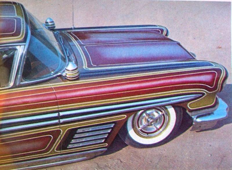 Pontiac 1955 - 1958 custom & mild custom 10801511