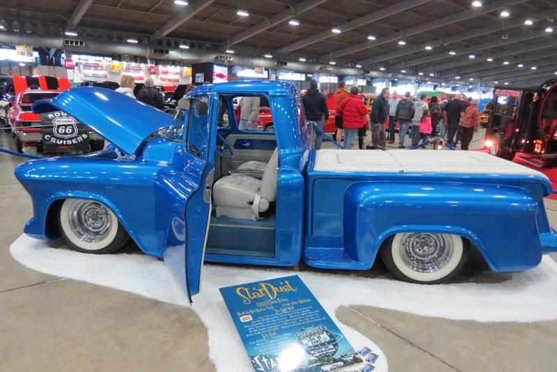 Chevy pick up  1955 - 1959 custom & mild custom 10846110