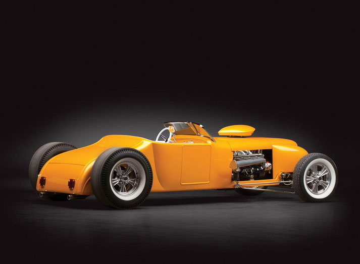 "1926 Ford Roadster Custom ""Golden Era"" by Rick Dore Sans-t12"