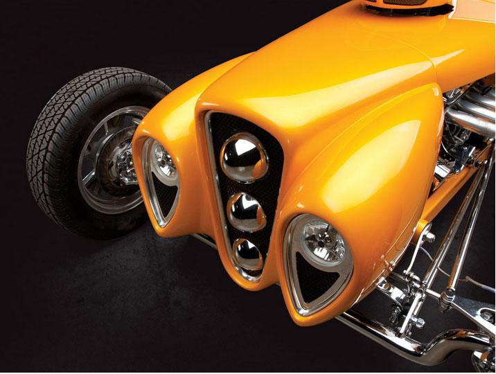 "1926 Ford Roadster Custom ""Golden Era"" by Rick Dore Sans-t18"
