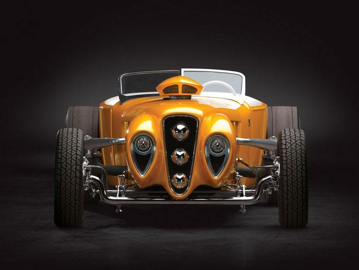 "1926 Ford Roadster Custom ""Golden Era"" by Rick Dore Sans-t25"