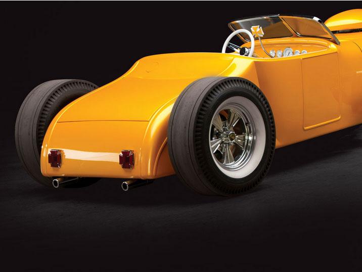 "1926 Ford Roadster Custom ""Golden Era"" by Rick Dore Sans-t27"