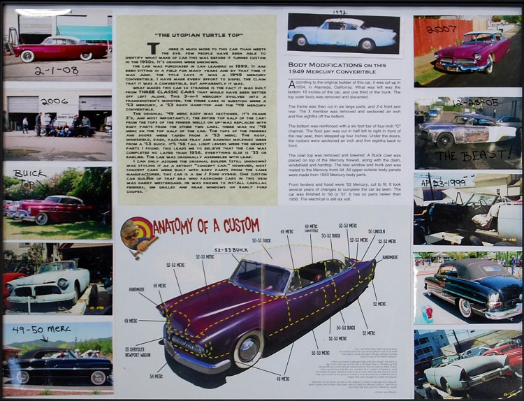1949 Mercury Paretto Brothers Custom. Sign-v10