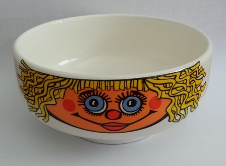 For gallery crown lynn tootle train with the 5029 Cereal Bowl Cl_sal10
