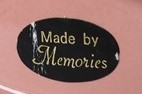 Memories pottery mark and sticker for gallery  Memori14