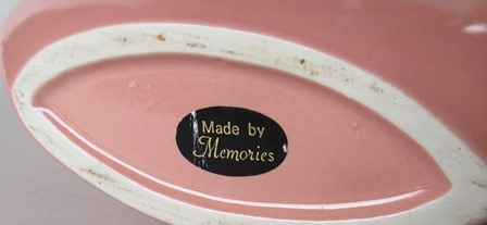 Memories pottery mark and sticker for gallery  Memori15