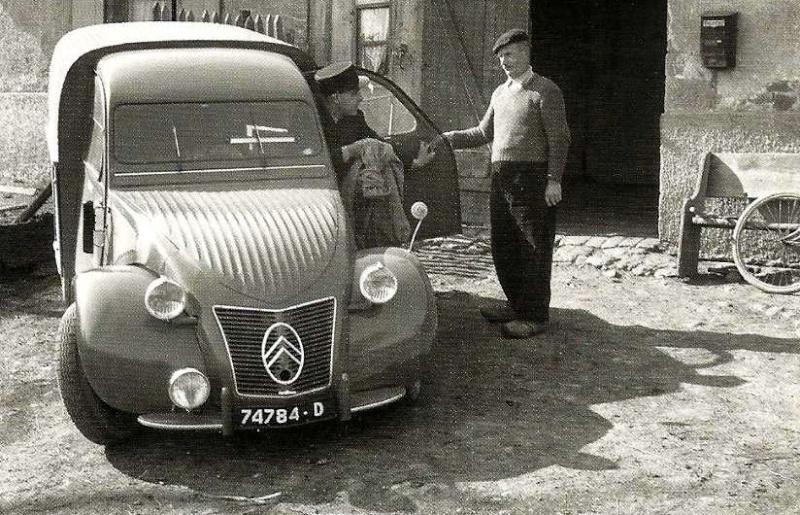 Des Cartes postales d'utilitaires Citroën 02 Ancien10