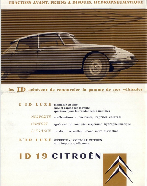 Brochure publicitaire ID19 Luxe 1958 Id19_110