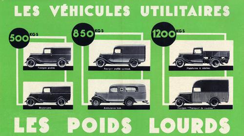 """Brochure publicitaire 500-850-1200 kgs type """"32"""" et """"45"""" S1412018"""