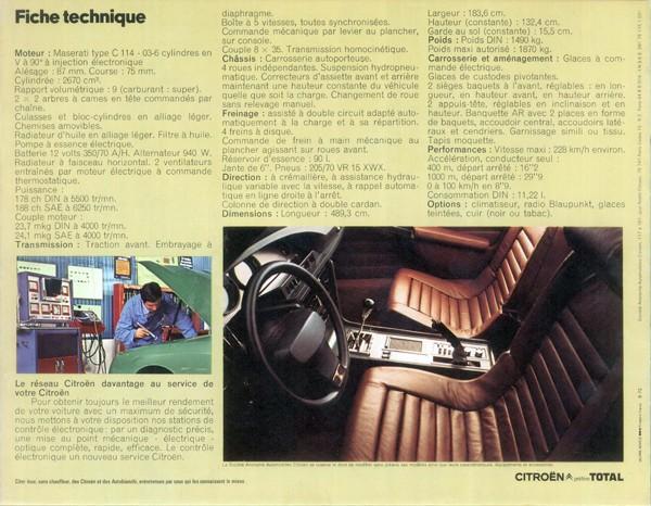 Brochure publicitaire SM 1972 Sm_19711
