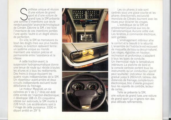 Brochure publicitaire SM 1972 Sm_19712