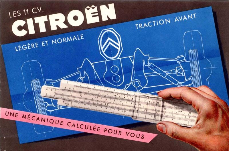 Brochures publicitaires Traction Avant Tracti10