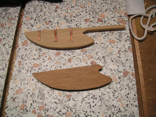 """BISQUINE sur la base """"La Cancalaise"""" Billing Boats 1/40°  Bild0015"""