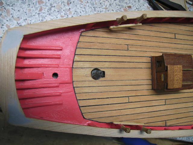 """BISQUINE sur la base """"La Cancalaise"""" Billing Boats 1/40°  Bild0017"""