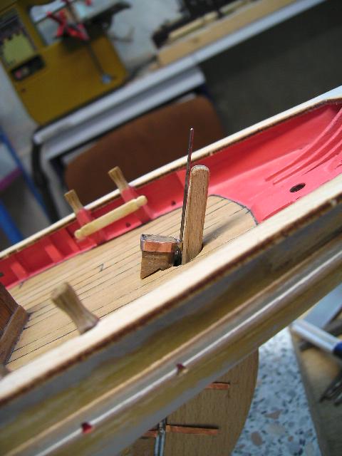"""BISQUINE sur la base """"La Cancalaise"""" Billing Boats 1/40°  Bild0019"""