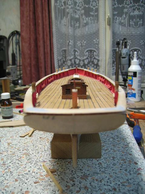 """BISQUINE sur la base """"La Cancalaise"""" Billing Boats 1/40°  Bild0021"""
