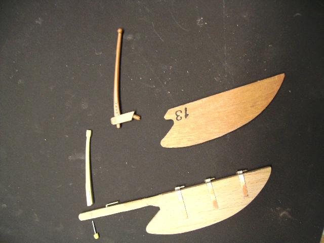 """BISQUINE sur la base """"La Cancalaise"""" Billing Boats 1/40°  Bild0022"""
