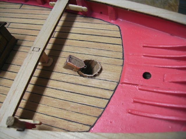 """BISQUINE sur la base """"La Cancalaise"""" Billing Boats 1/40°  Bild0024"""