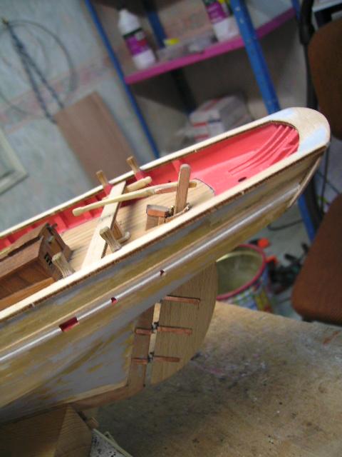 """BISQUINE sur la base """"La Cancalaise"""" Billing Boats 1/40°  Bild0026"""