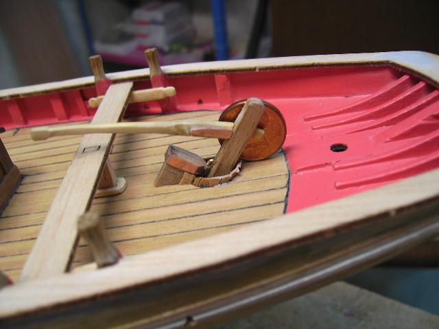 """BISQUINE sur la base """"La Cancalaise"""" Billing Boats 1/40°  Bild0027"""