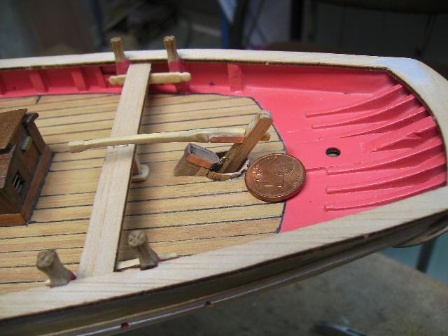 """BISQUINE sur la base """"La Cancalaise"""" Billing Boats 1/40°  Bild0028"""