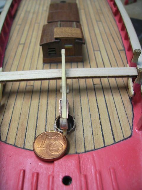 """BISQUINE sur la base """"La Cancalaise"""" Billing Boats 1/40°  Bild0029"""