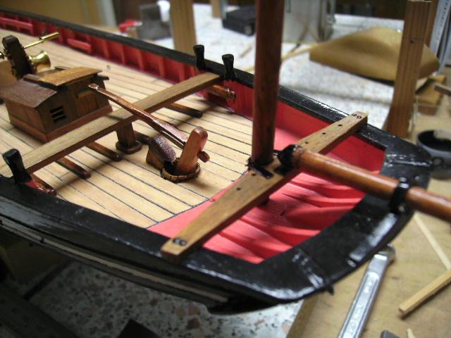 """BISQUINE sur la base """"La Cancalaise"""" Billing Boats 1/40°  - Page 2 Bild0045"""