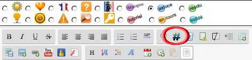 musa - Nouvelles fonctionnalités: Le tag des utilisateurs @ et des mots-clés # 111