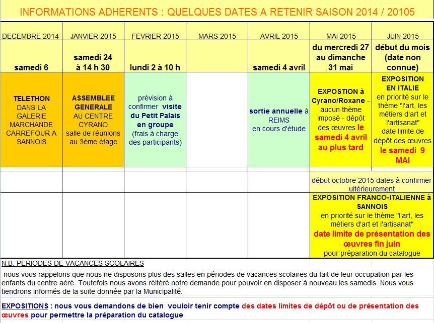Calendrier de la saison 2014/2015 Captur10