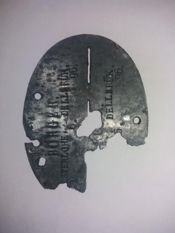 Caporal allemand (plaque) ww1 20200319