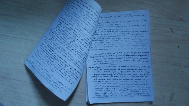 Témoignage manuscrit d'un vétéran d'Omaha Beach Dsc05216