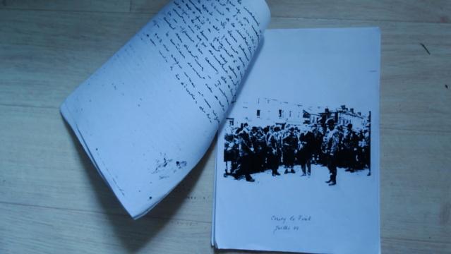 Témoignage manuscrit d'un vétéran d'Omaha Beach Dsc05217