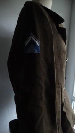 Manteau croisé à grenade double écusson Dsc05225