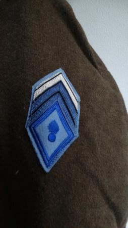 Manteau croisé à grenade double écusson Dsc05229