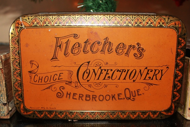 """Tin"" Fletcher's choice confectionery - Sherbrooke Fletch10"