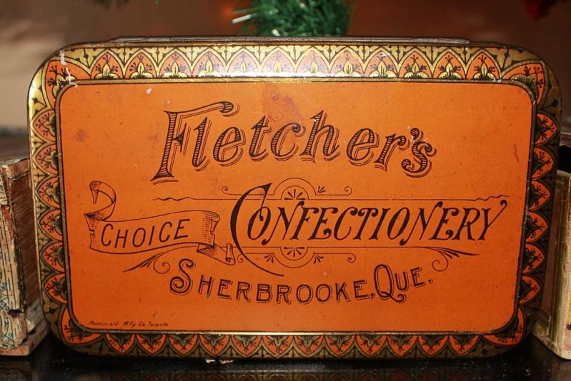 """""""Tin"""" Fletcher's choice confectionery - Sherbrooke Fletch10"""