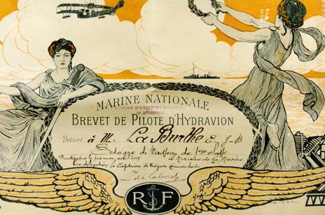 Brevets personnels navigants et pilotes de l'Aeronavale - Page 4 1916_b10