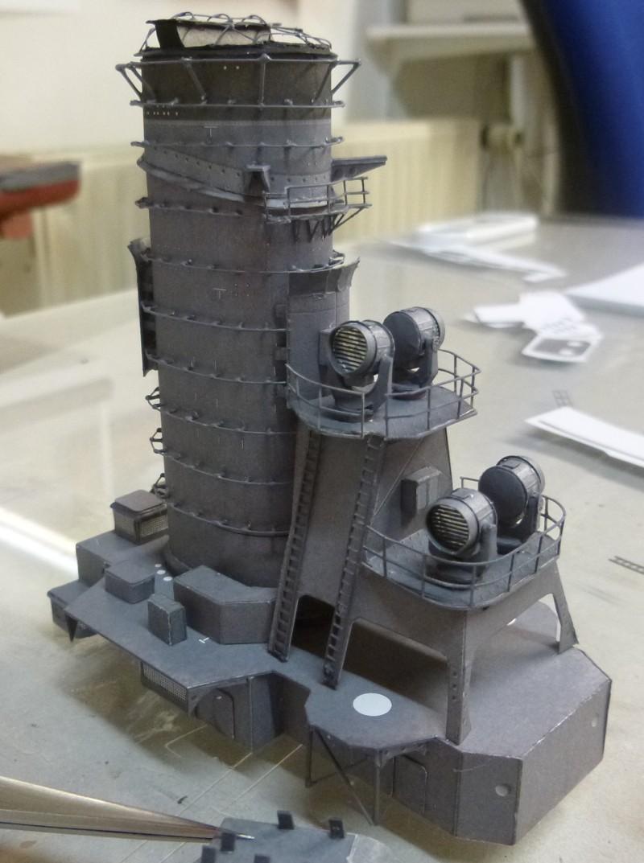 Jap. Schlachtschiff FUSO in 1:200 Halinski gebaut von Millpet   - Seite 19 P1030887