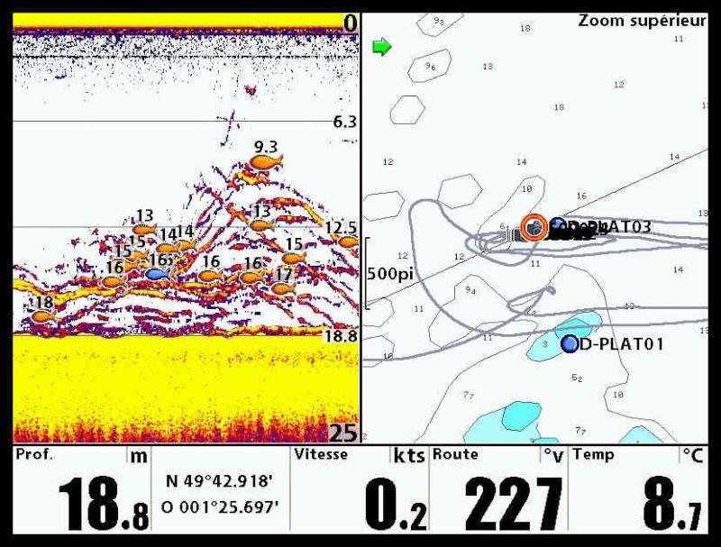 GPS et sondeurs  Captur16