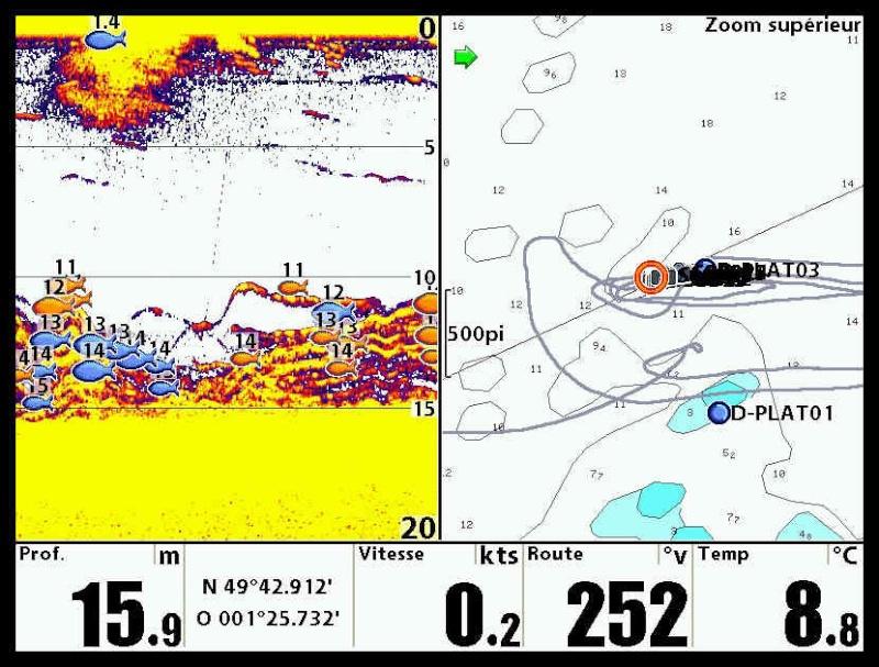 GPS et sondeurs  Captur17