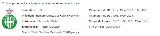 Association Sportive de Saint-Etienne 214