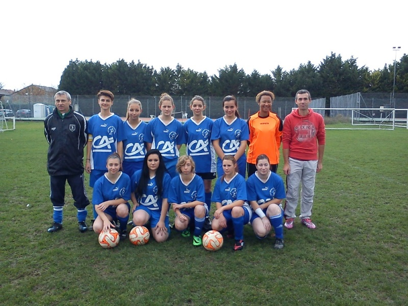 US Aulnay Féminine (District 17 ) 23_11_11