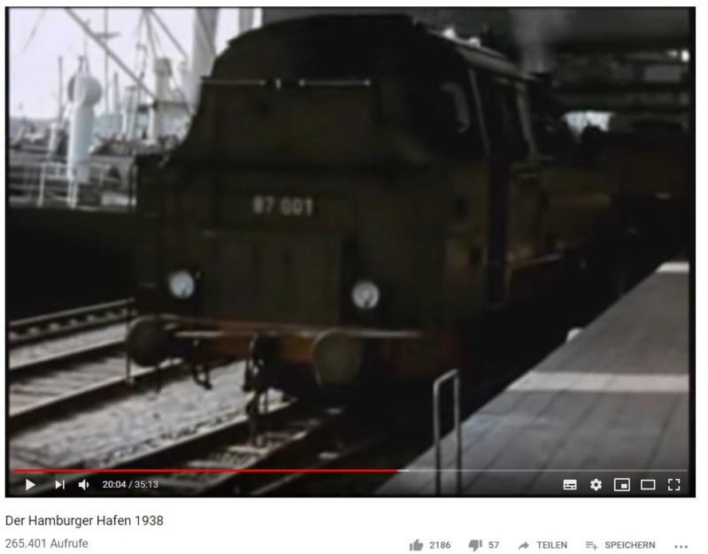 Video: Hamburger Hafen in Farbe im Jahr 1938 Br8710