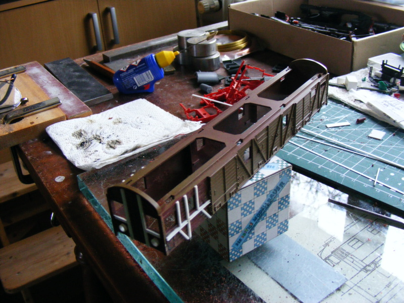 Güterzug-Steuerwagen GDS145 Dscf4648