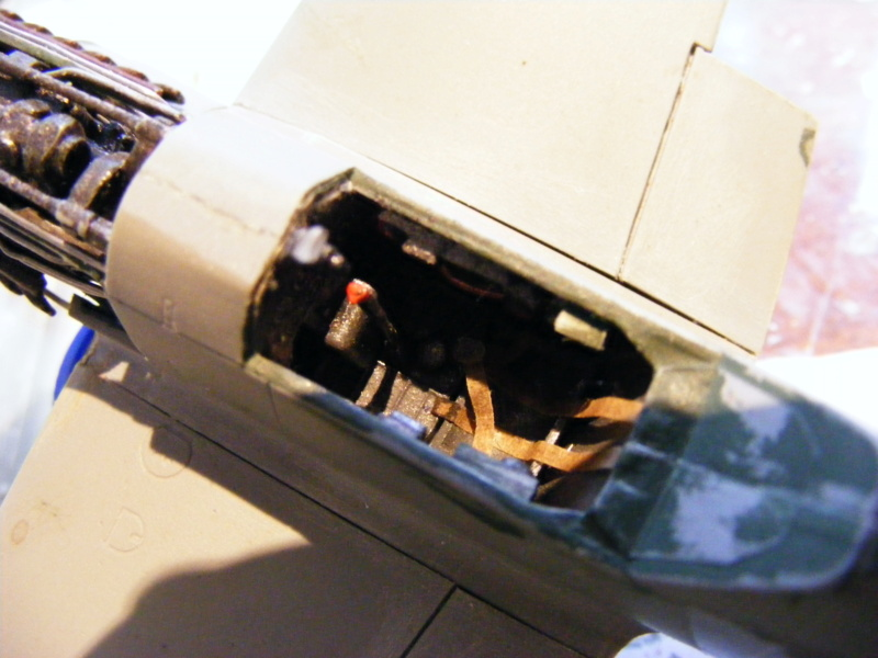 "Messerschmitt Me109 F-4, ""gelbe 14""; Maßstab 1:48 Dscf5153"