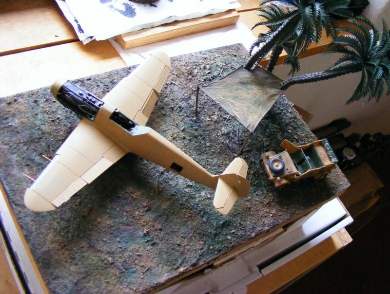 "Diorama ""Flugplatz Gazala (Libyen), Sept 1942""; Maßstab 1:48 Dscf5263"
