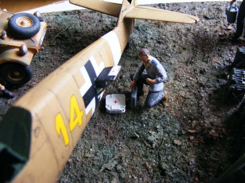 "Diorama ""Flugplatz Gazala (Libyen), Sept 1942""; Maßstab 1:48 Dscf5441"