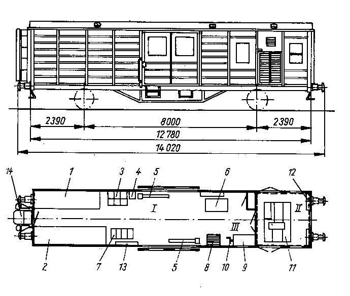 Standardhilfszug der Deutschen Reichsbahn (DR), Epoche III Genera10