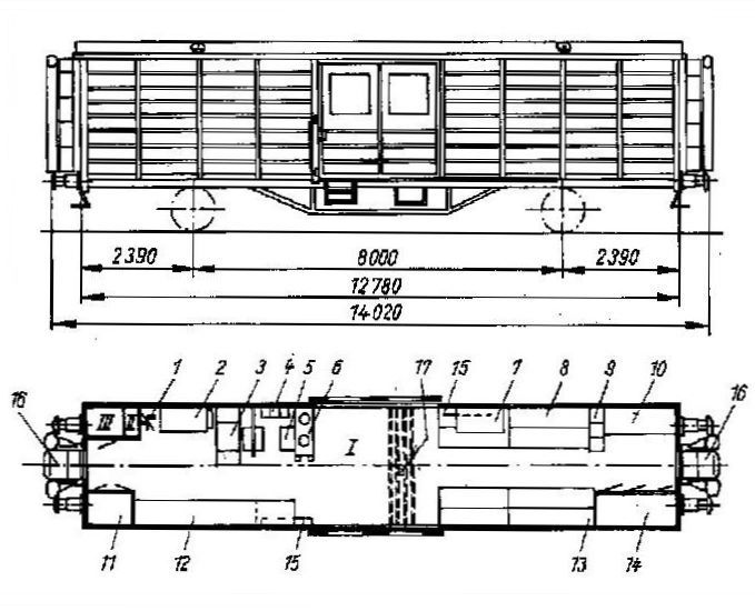 Standardhilfszug der Deutschen Reichsbahn (DR), Epoche III Gerzit28